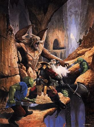 Portada Kellars Keep Heroquest por Les Edwards