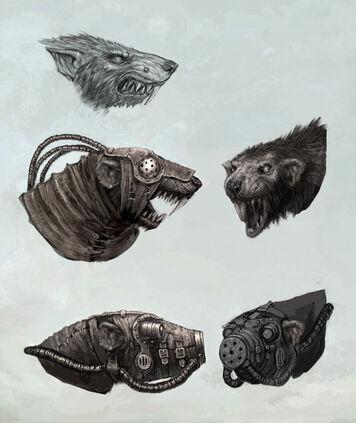 Variedades de Cabezas Skavens por Lucas Hardi