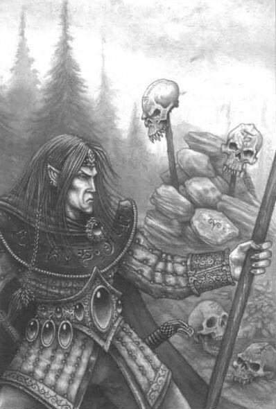 Defensor de Loren por Des Hanley Páramos Salvajes Elfos Silvanos