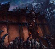 Warhammer Online Ciudad Ineludible Puerta 02 por Michael Phillippi