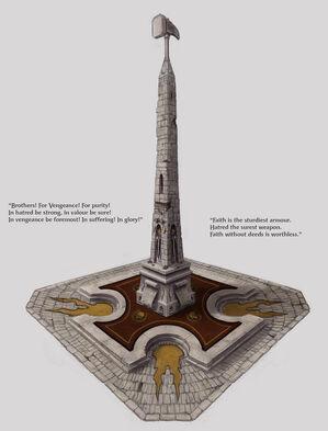 Monumento Martillo por Daarken Imperio