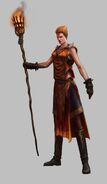 Hechicera Brillante 01 Warhammer Online por Michael Phillippi