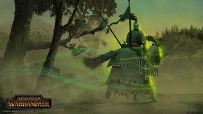 El Caballero Verde parte por Milek Jakubiec Warhammer Total War