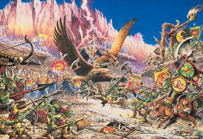 4ª edición, Altos Elfos vs. Orcos y Goblins - Geoff Taylor, 1992