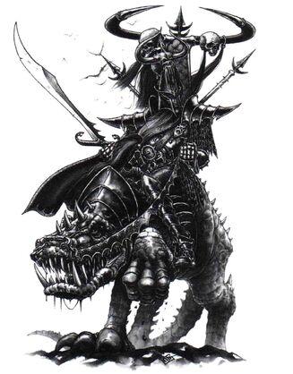 General Elfo Oscuro por Mark Gibbons
