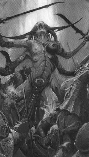 Guardian de los secretos contra altos elfos