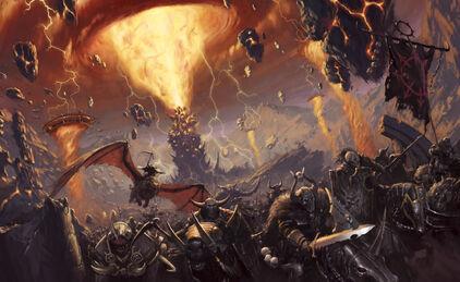 Horda del caos por Mark Holmes