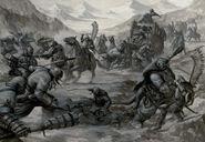 Reinos Ogros emboscada Caravana Karl Kopinski