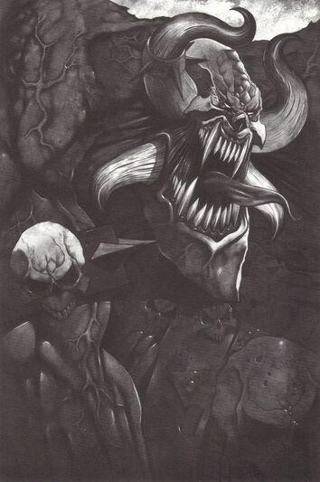 Ilustración El Señor de los Mutantes por Wayne England