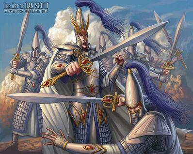Maestros de la Espada por Dan Scott