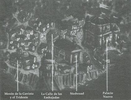 Mapa Paleisbuurt