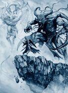 Aenarion última batalla Demonios del Caos Karl Kopinski