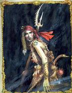 Aranessa Malasal Dreadfleet por John Blanche
