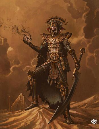 Rey Funerario por por Chris Dien