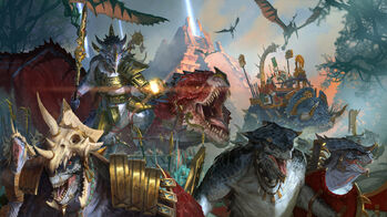 Total War Warhammer 2 Hombres Lagarto por Diego Gisbert Llorens