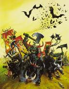 Portada Libro de Ejercito 5ª Edición Orcos y Goblins por David Gallagher