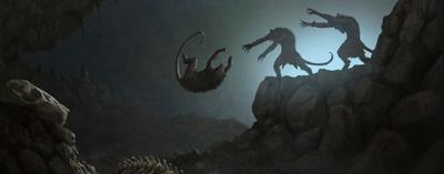 Funeral skaven concept art warhammer total war por Milek Jakubiec