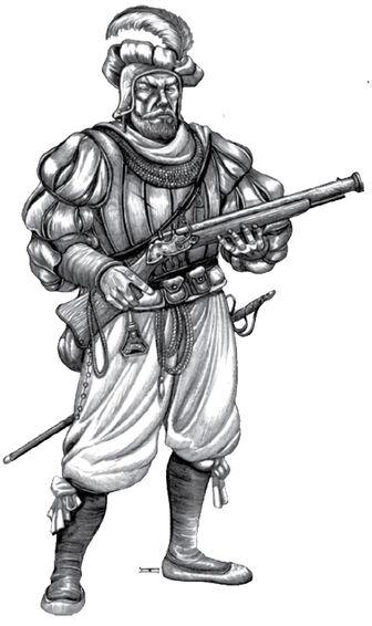 Soldado - Arcabucero