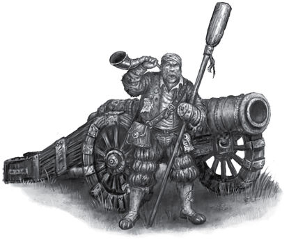 Artillero por Pat Loboyko Gran Cañón
