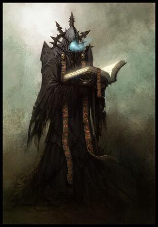 Bibliotecario del Caos por Daarken Warhammer Age of Reckoning