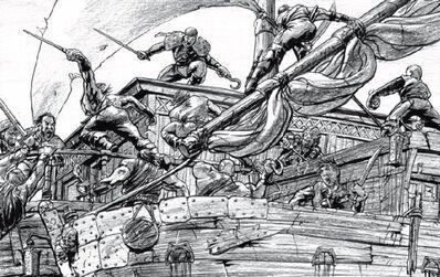 Piratas de río por Tony Parker