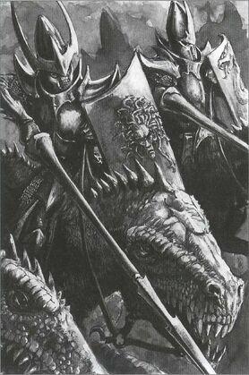 Caballeros Gélidos Elfos Oscuros 7ª Edición