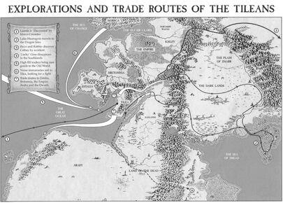 Mapa comercio Tilea