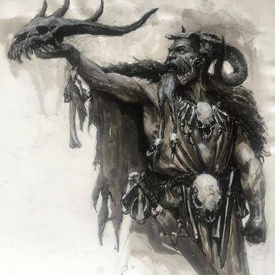 Hechicero de batalla Imperio Ámbar por Karl Kopinski