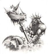 Tritón por Mark Gibbons Man O' War