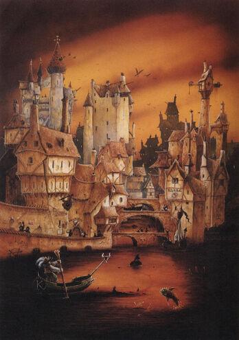 Warhammer Ciudad imagen 3ª Edición John Blanche