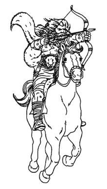 Arquero a caballo Unberogen