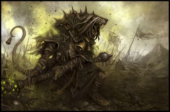 Monje de Plaga por Daarken Pestilens
