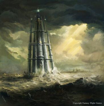 The glittering tower by neisbeis-d4sqmwb Altos Elfos