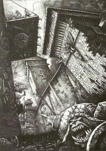Asedio Orcos Imperio por Des Hanley