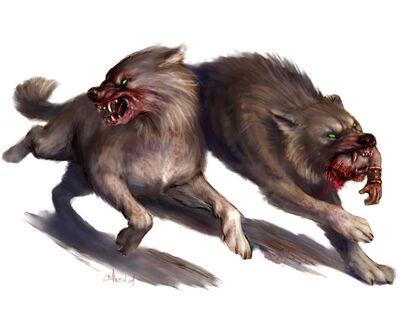 Lobos Gigantes por Britt Martin