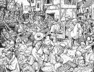 Enseña del Pincel y la Gaviota por Russ Nicholson Marienburgo