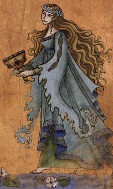 Pintura de la dama