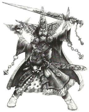 Hechicero Dorado Imperio por Wayne England