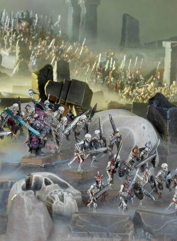 Krell liderando esqueletos