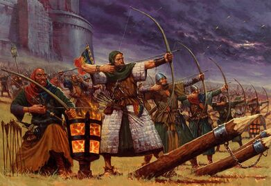 Arqueros Campesinos por Karl Kopinski