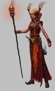 Hechicera Brillante 02 Warhammer Online por Michael Phillippi
