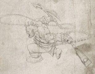 Boceto Snorri Muerdenarices