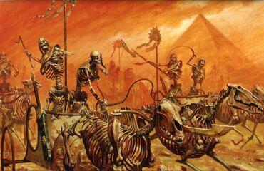 Carros reyes funerarios