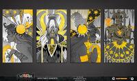 Carta imperio arte conceptual vermintide 2 por John Silva