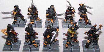 Comandos Ninjas