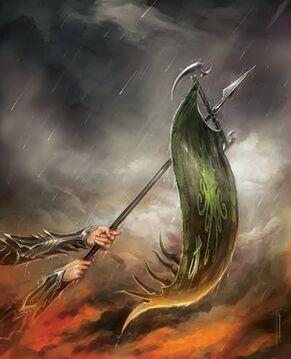 Estandarte Elfos Oscuros