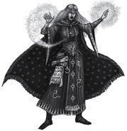 Hechicero Adepto por Pat Loboyko Mago Alto Elfo