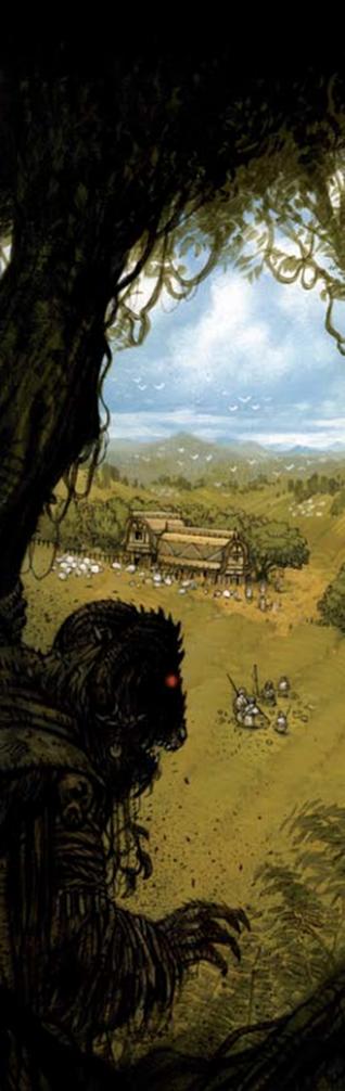 Bretonia bosque Hombre Bestia por Vincent Dutrait