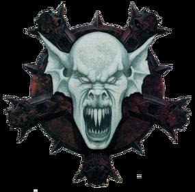 Símbolo Vampiros Necrarcas Wayne England