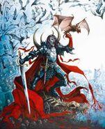 Portada Condes Vampiro 8ª Edición por Dave Gallagher